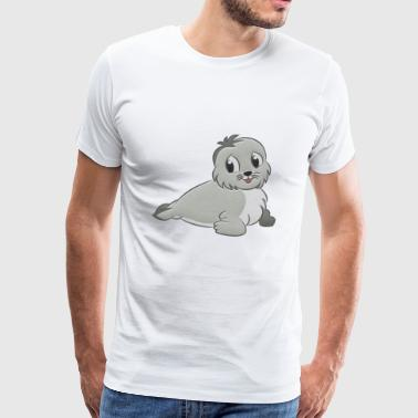 Seal stuffed animal - Men's Premium T-Shirt