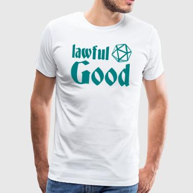 lawful good - Männer Premium T-Shirt