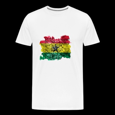 Ghana vintage flag - Men's Premium T-Shirt