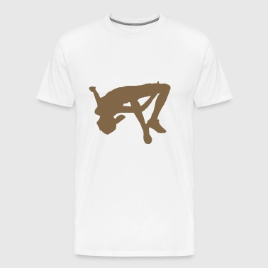 high jump jumping jump jump ballerina9 - Men's Premium T-Shirt