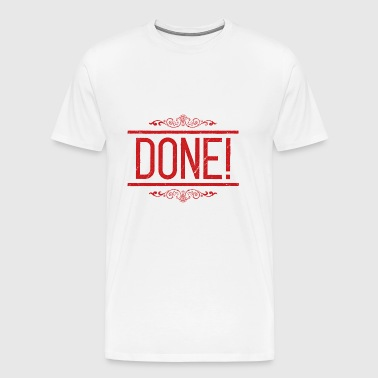 DONE - T-shirt Premium Homme