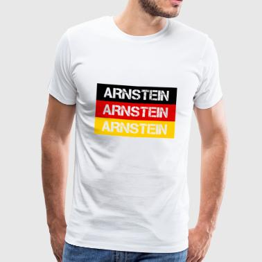 CITY OF ARNSTEIN, GERMANY - Men's Premium T-Shirt