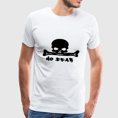 Not afraid of death - Men's Premium T-Shirt