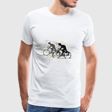 Confetti Cycling - Men's Premium T-Shirt