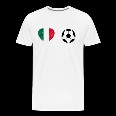Mexique Mexique Mexique Coupe du Monde de football coeur - T-shirt Premium Homme