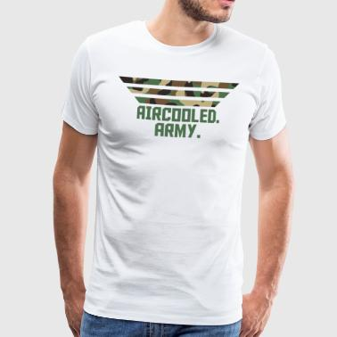 Aircooled Army Camouflage green - Men's Premium T-Shirt