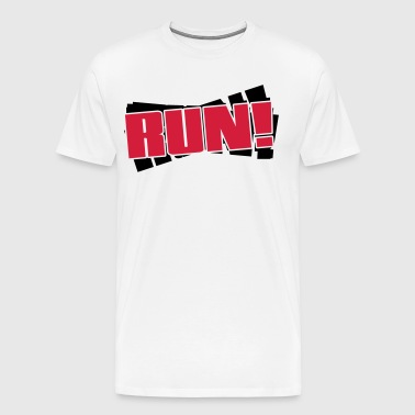 Run - Mannen Premium T-shirt