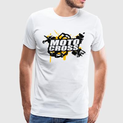 Motocross Supermoto Enduro Vol.I - Mannen Premium T-shirt