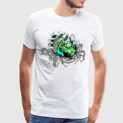 dragon Inside - Premium-T-shirt herr