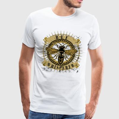 Bee Whisperer - Premium T-skjorte for menn