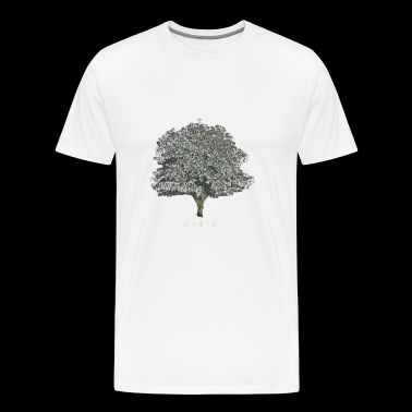 PICTURESQUE - Greek Shirt Design: [Tree of Wisdom] - Maglietta Premium da uomo