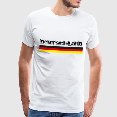 Germany black red gold - Men's Premium T-Shirt