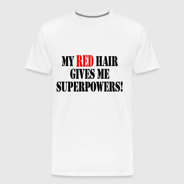 My red hair - Men's Premium T-Shirt