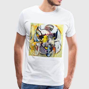 Bubble Cartoon (Bull-serie) - Mannen Premium T-shirt