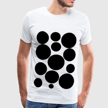 black circles - Men's Premium T-Shirt