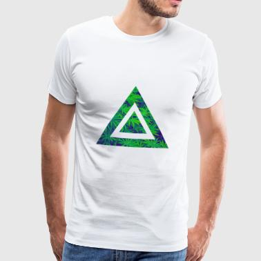 Weed triangle - Men's Premium T-Shirt