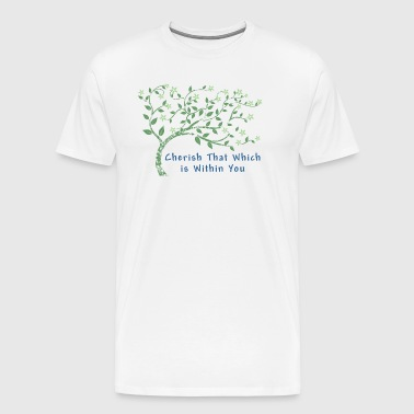 Yoga Cherish That Which Is Within You - Men's Premium T-Shirt
