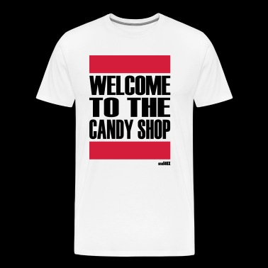WELCOME TO THE CANDY SHOP - Men's Premium T-Shirt