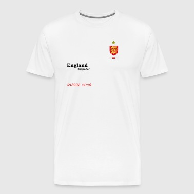 England fan support - Men's Premium T-Shirt