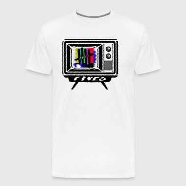 FIVES gamle tv-udsendelse - Herre premium T-shirt