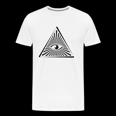 Seeing Eye Illuminati - Premium T-skjorte for menn