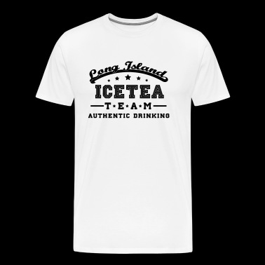 long island icetea team - Men's Premium T-Shirt