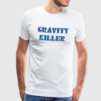 Gravity Killer - Mannen Premium T-shirt