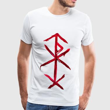 bind rune of love magic - Mannen Premium T-shirt