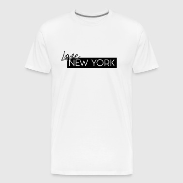 NEW YORK Love par HermzCollection - T-shirt Premium Homme