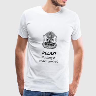 Spiritual Quote - Buddha - Men's Premium T-Shirt