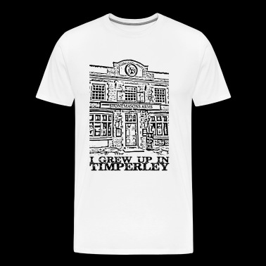 Stonemasons Arms Timperley Traditions - Premium-T-shirt herr