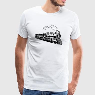 Locomotive / Locomotive 02_black - Men's Premium T-Shirt