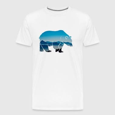 Forest dwellers Forester bear forest nature animal wilderness - Men's Premium T-Shirt