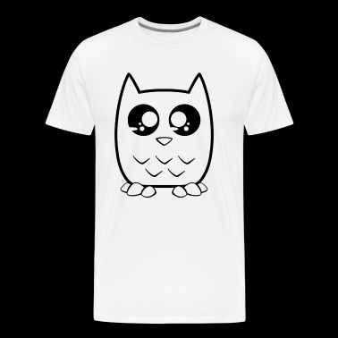 Black owls - Men's Premium T-Shirt