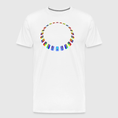 Facet necklace - Men's Premium T-Shirt
