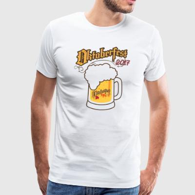 Oktoberfest 2017 Beer - Men's Premium T-Shirt