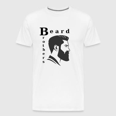 Design by Nakos | Barbe Frères / Bart Brothers Shirt - T-shirt Premium Homme