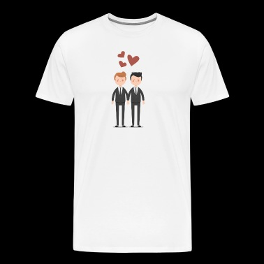 Gay Couple Love Gay couples - Men's Premium T-Shirt