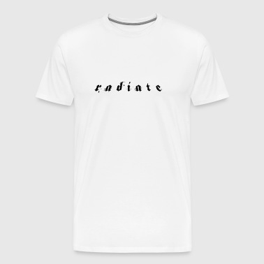 Radiate Limited Edition - Herre premium T-shirt