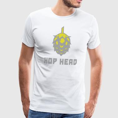 Hop Head (Light Verison) - Maglietta Premium da uomo