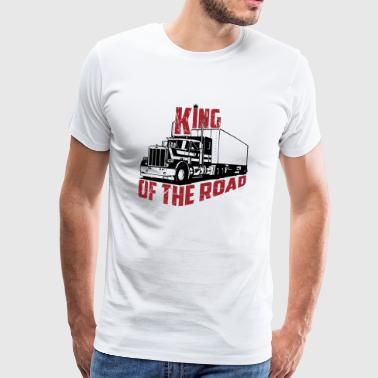 King Of The Road - Herre premium T-shirt