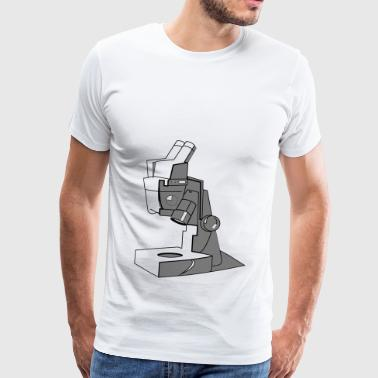 Microscope Technique Device Gift Enlarge the idea - Men's Premium T-Shirt