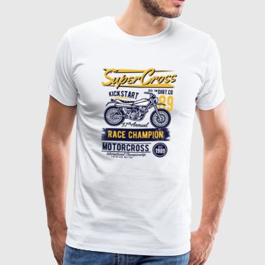 Supercross - T-shirt Premium Homme