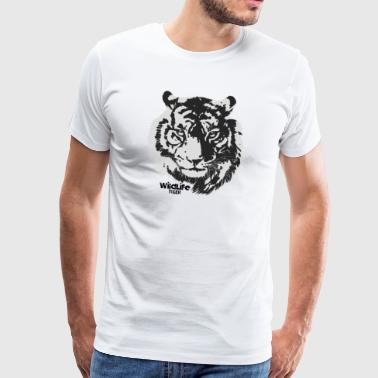 Wildlife · Tiger - Mannen Premium T-shirt