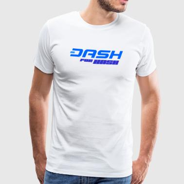 Dash for Hash - Men's Premium T-Shirt