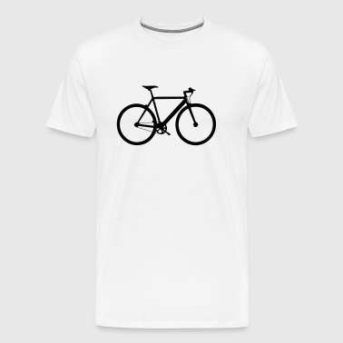 Fixed gear bike - Mannen Premium T-shirt