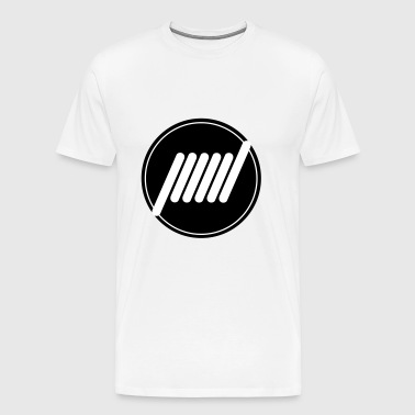 Vape T-shirt icon Coil - Men's Premium T-Shirt