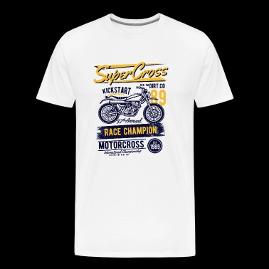 Supercross - Men's Premium T-Shirt