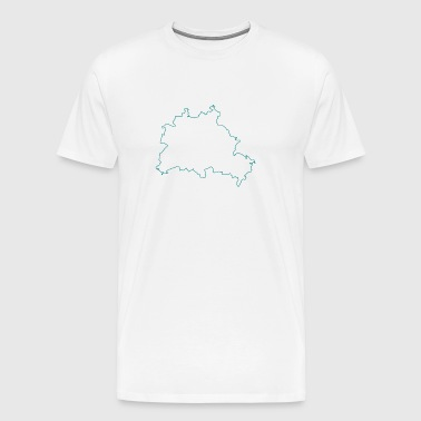 naken Berlin - Premium-T-shirt herr