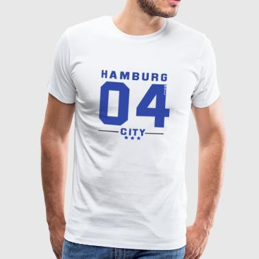 Hamburg CITY - Mannen Premium T-shirt